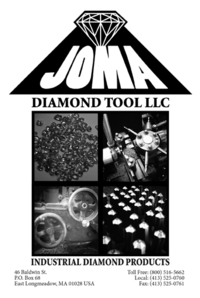 JOMA CATALOG - DIAMOND DRESSING TOOLS